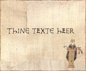 Thine Texte Goes Heer