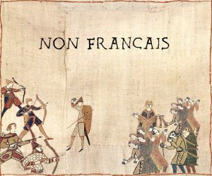 """Remember, non-Français"""